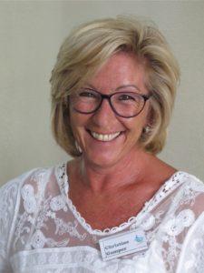 Christine Gamper, Rezeptionistin