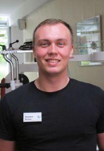 Dimitri Kruse, Physiotherapeut