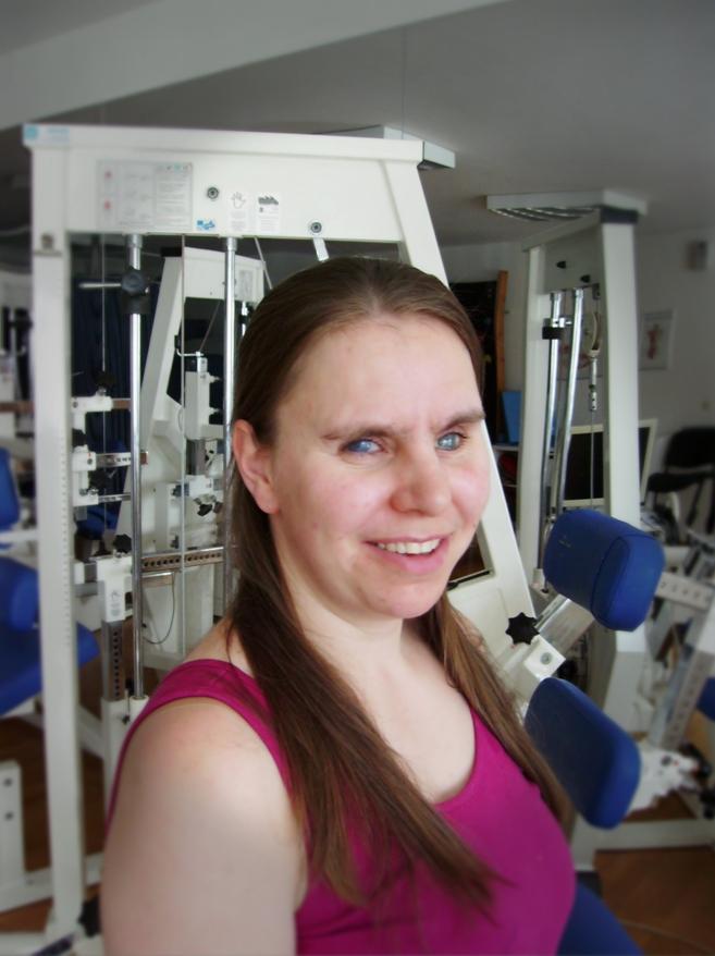 Elli Just, medizinische Bademeisterin und Masseurin
