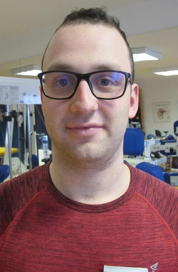 Alexander Dolgin, medizinischer Bademeister und Masseur