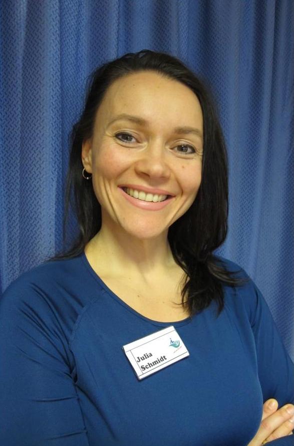 Julia Schmidt, Sportwissenschaftlerin